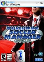 Worldwide Soccer Manager 2008 dvd cover