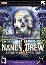 Nancy Drew: Legend of the Crystal Skull dvd cover