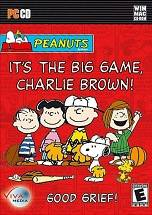 It's the Big Game, Charlie Brown poster