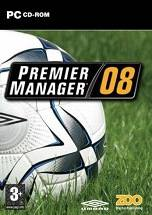 Premier Manager 08 dvd cover