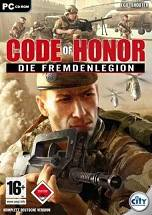 Code of Honor: The French Foreign Legion dvd cover