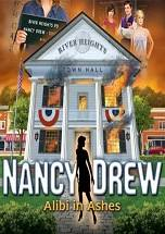 Nancy Drew: Alibi In Ashes dvd cover