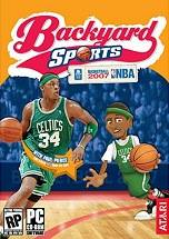 Backyard Sports Basketball 2007 dvd cover