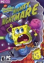 SpongeBob SquarePants: Nighty Nightmare dvd cover