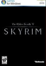 The Elder Scrolls V Skyrim dvd cover