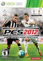Pro Evolution Soccer 2012 dvd cover