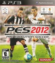 Pro Evolution Soccer 2012 cd cover