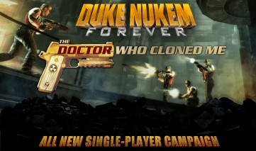 Duke Nukem Forever: The Doctor Who Cloned Me dvd cover
