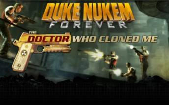 Duke Nukem Forever: The Doctor Who Cloned Me cd cover