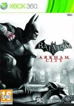 Batman: Arkham City dvd cover