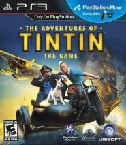 The Adventures of Tintin: The Game cd cover