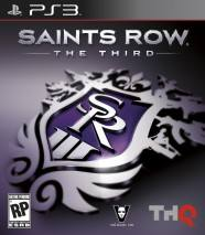 Saints Row: The Third dvd cover