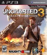 Uncharted 3: Drake's Deception cd cover