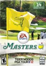 Tiger Woods PGA Tour 12: The Masters dvd cover