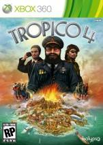 Tropico 4 dvd cover