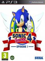 Sonic the Hedgehog 4: Episode I dvd cover