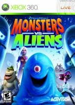 Monsters vs. Aliens dvd cover