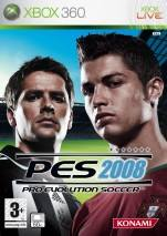 Pro Evolution Soccer 2008 dvd cover