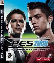 Pro Evolution Soccer 2008 cd cover