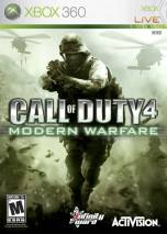 Call of Duty 4: Modern Warfare dvd cover
