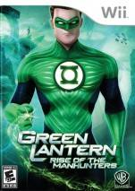 Green Lantern: Rise of the Manhunters dvd cover