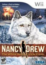 Nancy Drew: The White Wolf of Icicle Creek dvd cover