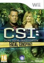 CSI: Fatal Conspiracy dvd cover