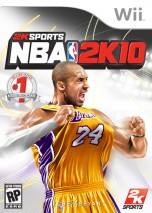 NBA 2K10 dvd cover 