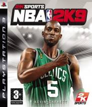 NBA 2K9 dvd cover