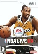 NBA Live 08 dvd cover