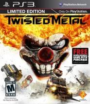 Twisted Metal cd cover