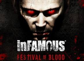 inFamous: Festival of Blood dvd cover