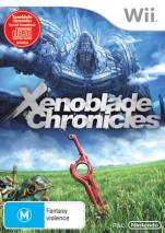 Xenoblade Chronicles dvd cover