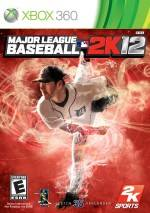 Major League Baseball 2K12  dvd cover