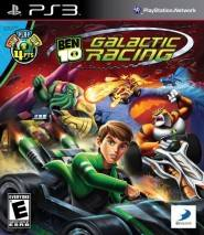 Ben 10: Galactic Racing cd cover