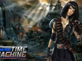 Time Machine: Rogue Pilot dvd cover