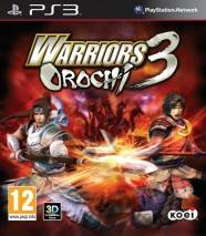 Warriors Orochi 3 dvd cover