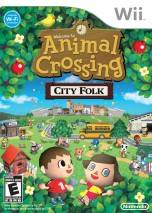 Animal Crossing: City Folk dvd cover