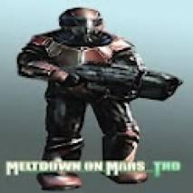 Meltdown on Mars THD dvd cover