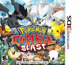 Pokemon Rumble dvd cover 
