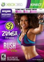 Zumba Fitness Rush dvd cover