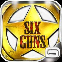 Six-Guns Cover