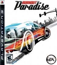 Burnout Paradise dvd cover