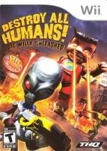 Destroy All Humans! Big Willy Unleashed dvd cover 