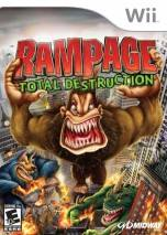 Rampage: Total Destruction dvd cover