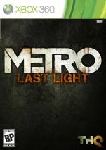 Metro: Last Light dvd cover