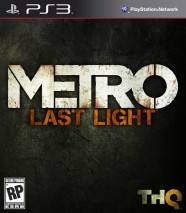 Metro: Last Light cd cover