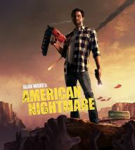 Alan Wake's American Nightmare dvd cover