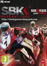SBK Generations dvd cover