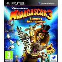 Madagascar 3: The Video Game cd cover